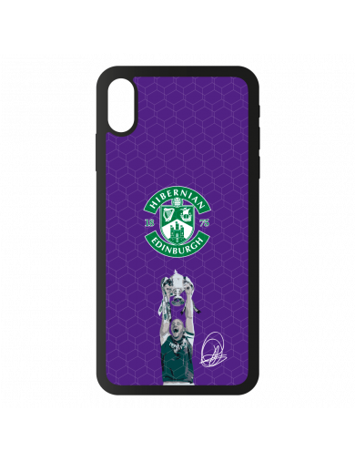 Hibernian Purple David Gray...